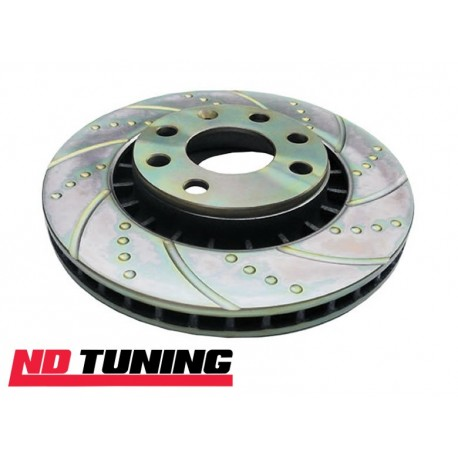 Ford Focus ST225 Turbo Groove Brake Discs