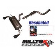 Focus ST Mk2 Milltek Sport Cat Back System- Non Resonated