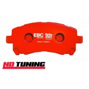 Ford Focus ST225 Mk2 2.5 Turbo EBC Redstuff Ceramic Front Brake Pads