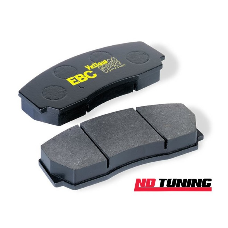ford focus st225 mk2 2.5 turbo yellowstuff front brake pads