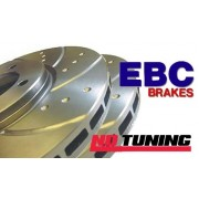 Ford Focus RS MK2 EBC Ford Focus RS MK2 EBC Turbogroove Rear Brake Discs Rear Brake Discs