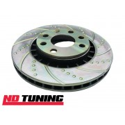 Ford Fiesta RS Turbo 1.6 EBC Turbo Groove Front Brake Discs 90-95