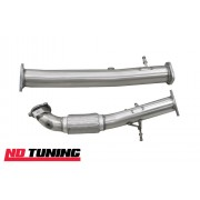 Focus RS Mk2 Downpipe and Decat Combination Kit