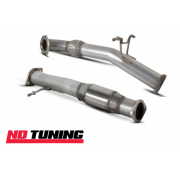"Ford Focus Mk2 ST225 Turbo Scorpion Downpipe and Sports Cat Exhaust 3"" SFDP066 SFDX066"