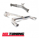 """Ford Focus RS MK2 Scorpion 76mm/3"""" Cat Back and Down Pipe Exhaust"""