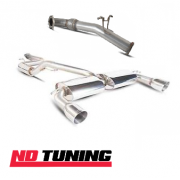 Ford Focus RS MK2 Scorpion Cat Back and Down Pipe Exhaust