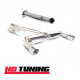 Ford Focus Mk2 RS Scorpion Decat and Catback Exhaust
