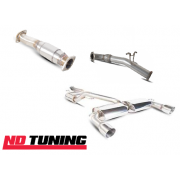 "Ford Focus RS Mk2 76mm/3"" Scorpion Full Turbo Back Exhaust With Sport Cat"