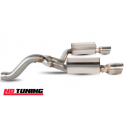 "Vauxhall Corsa D VXR Nurburgring Scorpion Rear Silencer 76mm/3"" 2007-"