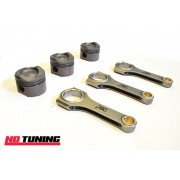 Ford Fiesta 1.0 Ecoboost Uprated Forged Pistons and Rods PEC