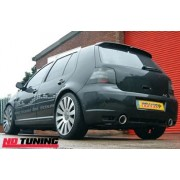 Volkswagen Golf Mk4 GTI 1.8T Milltek Cat Back with 100mm GT100 tailpipe