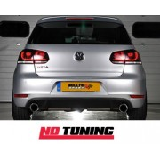Volkswagen Golf Mk6 GTi 2.0 TSI Milltek Cat Back