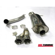 Volkswagen Polo GTi 1.4 TSI Milltek Cat Back With Twin 80mm GT80 Tailpipe