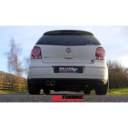 Volkswagen Polo GTi 1.8T Milltek Cat Back With Twin 76 2mm Jet Tailpipe