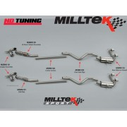 Renault Megane 230 Milltek Turbo Back with Hi Flow Sports Cat