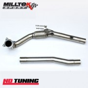 Skoda Fabia vRS 1.4 TSI Milltek Large Bore Downpipe and Hi Flow Sports Cat