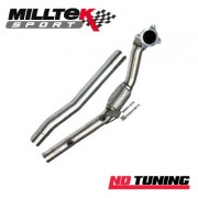 Skoda Fabia VRS TDI Milltek Hi Flow Sports Cat and Downpipe