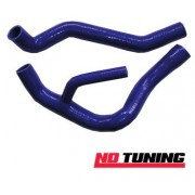 Cosworth 3dr and 2wd Sapphire Blue Silicon Coolant Hoses