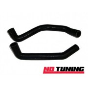 Escort Cosworth T25 and T35 Black Silicon Coolant Hoses 2 Piece Kit