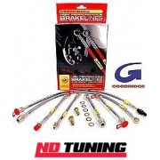 Renault Clio Sport 197 (inc. Cup R27) Goodridge Braided Brake Lines - SRN0405-4P