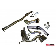 Astra VXR Mk5 Turbo Back Decat Milltek Sport Full Exhaust Res
