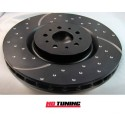 Peugeot 208 1.6 Turbo EBC 3GD Series Dimpled And Slotted Front Sport Discs