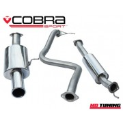 "Ford Fiesta ST180 Cobra Resonated Cat Back System 2.5"" Bore"