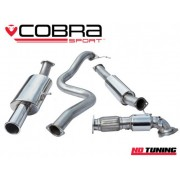 "Ford Fiesta ST180 Cobra Turbo Back Package Resonated Sports Catalyst 3"" Bore"