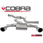 Ford Focus RS Mk2 Cobra Resonated Cat Back System