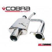 Ford Fiesta ST150 Cobra Cat Back Exhaust Non Resonated