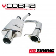 Ford Fiesta ST150 Cobra Cat Back Resonated