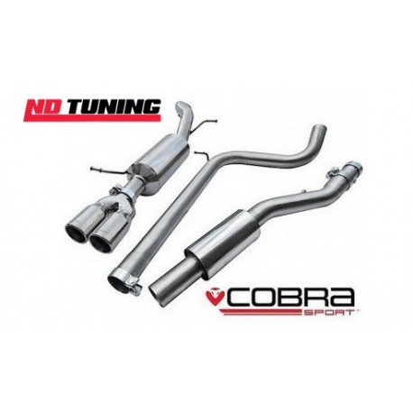 seat ibiza fr 1.4 tsi cobra cat back exhaust