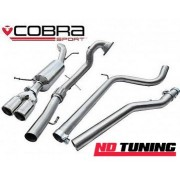 Seat Ibiza FR 1.4 TSI Cobra Turbo Back Exhaust