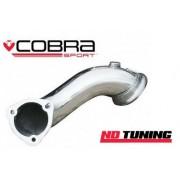 Vauxhall Astra H VXR Cobra Exhaust Pre cat/Decat Pipe