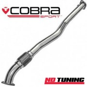 Vauxhall Astra H VXR Cobra Exhaust Second Decat Pipe