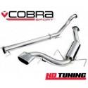 Vauxhall Astra H VXR Cobra Cat Back System Non Resonated