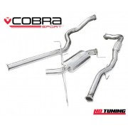 Vauxhall Corsa D VXR Cobra Turbo Back Exhaust with Decat
