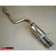 Mongoose Ford Fiesta ST180 1.6 Litre Eco Boost Cat Back Exhaust