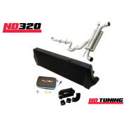 ND320 Ford Focus ST225 AIRTEC Gen3 Intercooler, Gen2 CAIS Cold Air Induction System and Stage 2, Stage 2RS CP I Flash