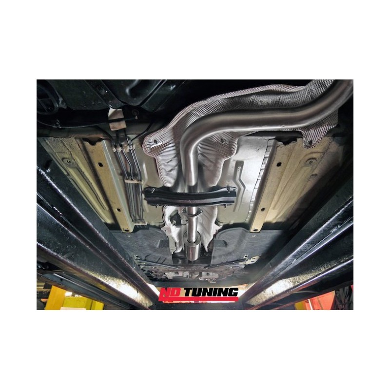 Ford Fiesta Es Cat Back Exhaust