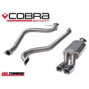 Ford Fiesta 1.0 Ecoboost Cobra Cat Back Exhaust (Non Resonated)