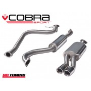 Ford Fiesta 1.0 Ecoboost Cobra Cat Back Exhaust (Resonated)