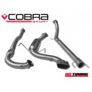 Vauxhall Astra H VXR Cobra Turbo Back Decat Non Resonated