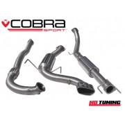 Vauxhall Astra H VXR Cobra Turbo Back Decat Resonated