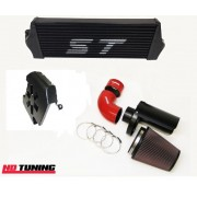 Ford Focus ST225 Intercooler and Group A Open Air Filter With Cold Feed Scoop - Combo Deal