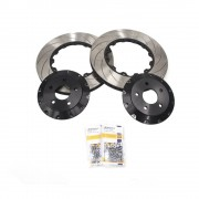 Mk3 Ford Focus RS Clubsport Two-Piece Front Brake Disc Set Up for