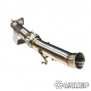 Mk3 Ford Focus RS 70mm Downpipe Decat