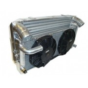 Ford Escort Mk1 Mk2 YB Intercooler Radiator Fans Package