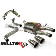 Ford Fiesta Eco Boost 1.0 Milltek Cat Back Exhaust Resonated