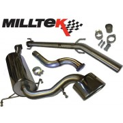 Vauxhall Mk5 Astra VXR Milltek Downpipe and Sports Cat
